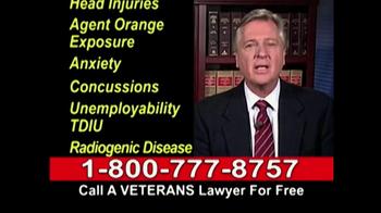 Lawyers Group TV Spot, 'Disabled Veterans Benefits' - Thumbnail 7