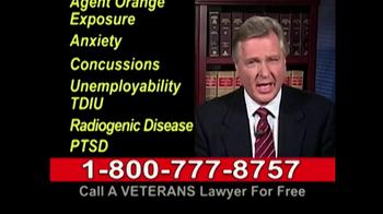 Lawyers Group TV Spot, 'Disabled Veterans Benefits' - Thumbnail 8