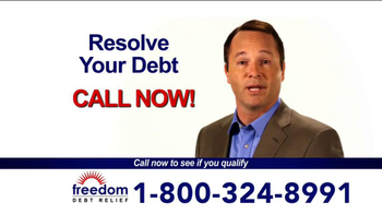 Freedom Debt Relief TV Spot, 'Maxed Out Credit Cards' - Thumbnail 5