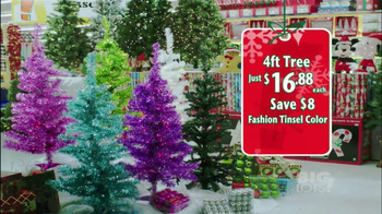 Big Lots TV Spot, 'Artifical Trees'