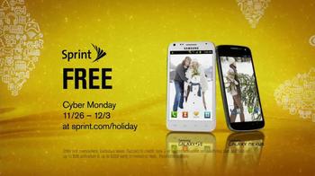 Sprint Cyber Monday TV Spot, 'Free Galaxy' - Thumbnail 7