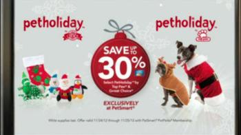 PetSmart Holiday Must-Haves Sale TV Spot, 'PetHoliday' - Thumbnail 7