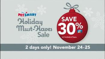 PetSmart Holiday Must-Haves Sale TV Spot, 'PetHoliday' - Thumbnail 5