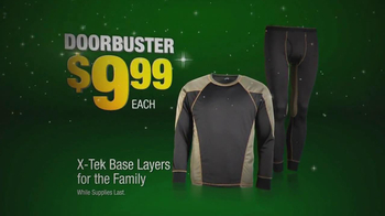 Cabela's After Thanksgivinig Sale TV Spot, 'Hoodies and Base Layers' - Thumbnail 7