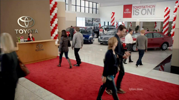 2012 Toyota Camry LE TV Spot, 'Toyotathan: Lucky Guess' - Thumbnail 1