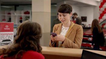 Toyota TV Spot, 'Toyotathon: Friends' - 657 commercial airings