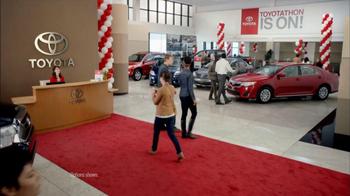 Toyota TV Spot, 'Toyotathon: Friends' - Thumbnail 1