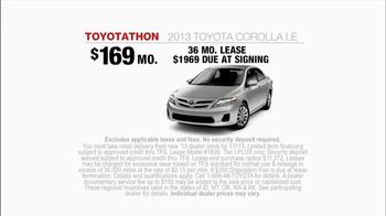 Toyota TV Spot, 'Toyotathon: Friends' - Thumbnail 8
