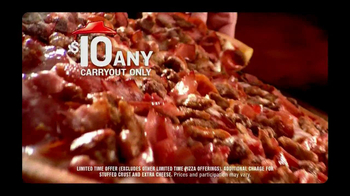 Pizza Hut $10 Any Carryout TV Spot, 'Make it Great This Holiday' - Thumbnail 3