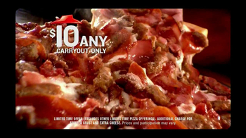 Pizza Hut $10 Any Carryout TV Spot, 'Make it Great This Holiday' - Thumbnail 4