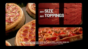 Pizza Hut $10 Any Carryout TV Spot, 'Make it Great This Holiday' - Thumbnail 5