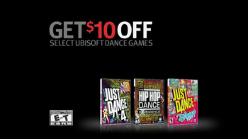 GameStop TV Spot, 'Just Dance 4' - Thumbnail 9