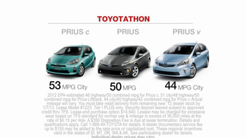 2012 Toyota Prius TV Spot, 'Toyotathon: Save on Gas' - Thumbnail 8