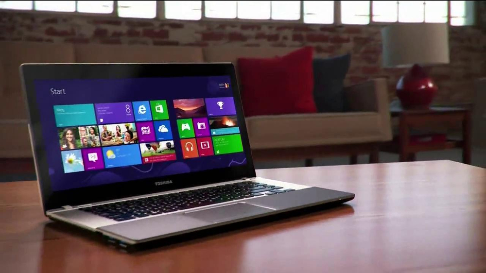 Toshiba Satellite Ultrabook Laptop Tv Commercial Widescreen