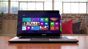 Toshiba Satellite Ultrabook Laptop TV Spot, 'Widescreen' - Thumbnail 3