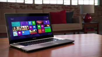 Toshiba Satellite Ultrabook Laptop TV Spot, 'Widescreen' - Thumbnail 5