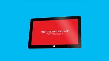 ESPN Windows 8 App TV Spot  - Thumbnail 1