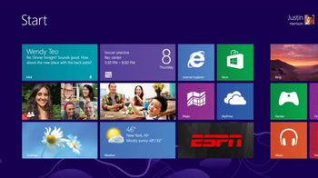 ESPN Windows 8 App TV Spot