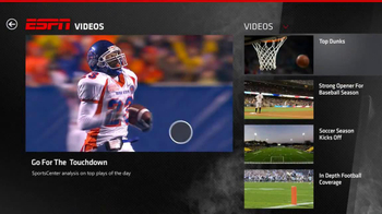ESPN Windows 8 App TV Spot  - Thumbnail 8