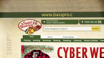 Bass Pro Shops Santa's Wonderland TV Spot, 'Cyber Week Sale' - Thumbnail 7