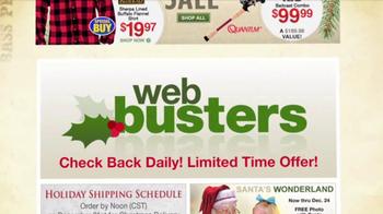 Bass Pro Shops Santa's Wonderland TV Spot, 'Cyber Week Sale' - Thumbnail 9