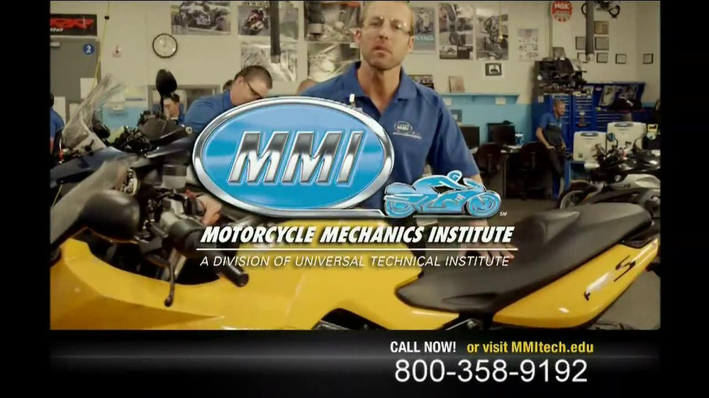 Motorcycle Mechanics Institute TV Commercial, 'In Your Blood'