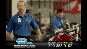 Motorcycle Mechanics Institute TV Spot, 'In Your Blood' - Thumbnail 9