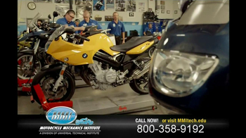 Motorcycle Mechanics Institute TV Spot, 'In Your Blood' - Thumbnail 2