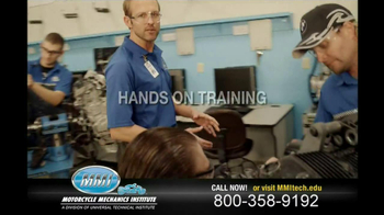 Motorcycle Mechanics Institute TV Spot, 'In Your Blood' - Thumbnail 4