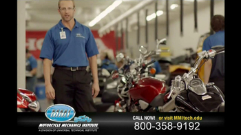 Motorcycle Mechanics Institute TV Spot, 'In Your Blood' - Thumbnail 5