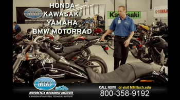 Motorcycle Mechanics Institute TV Spot, 'In Your Blood' - Thumbnail 6