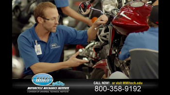 Motorcycle Mechanics Institute TV Spot, 'In Your Blood' - Thumbnail 7