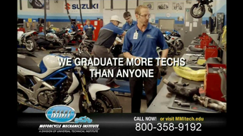 Motorcycle Mechanics Institute TV Spot, 'In Your Blood' - Thumbnail 8