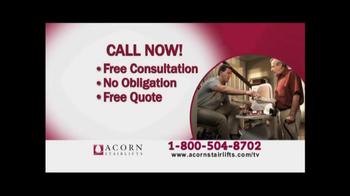 Acorn Stairlifts TV Spot, 'Afraid' - Thumbnail 4