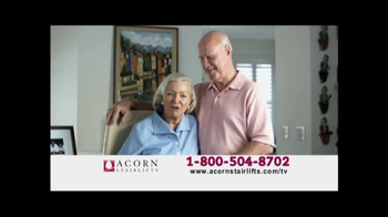 Acorn Stairlifts TV Spot, 'Afraid' - Thumbnail 7