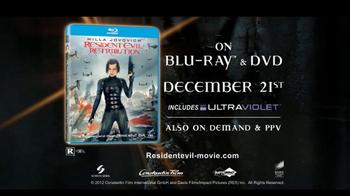 Resident Evil: Retribution Blu-ray TV Spot  - Thumbnail 8