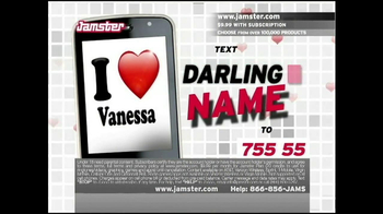 Jamster TV Spot,'Darling' - Thumbnail 1