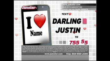 Jamster TV Spot,'Darling' - Thumbnail 4