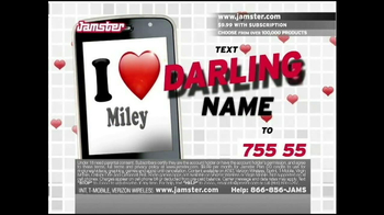 Jamster TV Spot,'Darling' - Thumbnail 7
