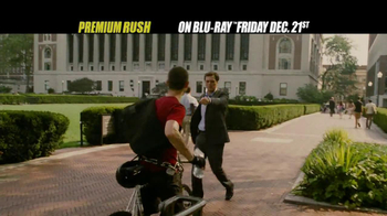 Premium Rush Blu-ray TV Spot  - Thumbnail 2