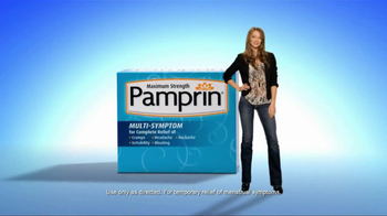 Pamprin TV Spot For Maximum Strength  - Thumbnail 2