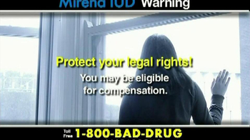 Pulaski & Middleman TV Spot, 'Mirena IUD Warning' - Thumbnail 7