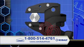 Kobalt Magnum Grip TV Spot
