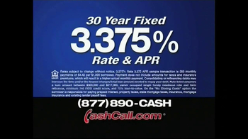 Cash Call TV Spot, '3.375 APR'