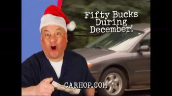 CarHop Auto Sales & Finance Fifty Dollar Down Days TV Spot, 'Holidays: $50 Down and Warranty'