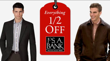 JoS. A. Bank TV Spot, 'Half Off: Dec. 22' - 47 commercial airings