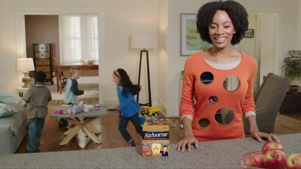 Airborne TV Commercial, 'Playing with the Kids'