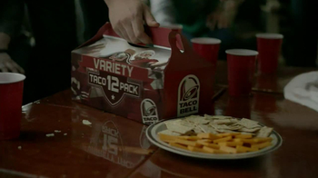 Taco Bell Variety 12 Pack TV Spot, 'Cheese & Crackers: Game Day Tradition' - Thumbnail 4