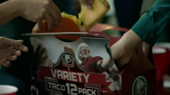Taco Bell Variety 12 Pack TV Spot, 'Cheese & Crackers: Game Day Tradition' - Thumbnail 5