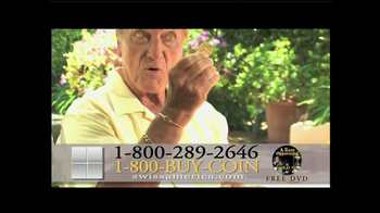 Swiss America TV Spot, 'Paper vs. Gold' Featuring Pat Boone - Thumbnail 7